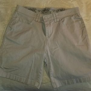 Riders By Lee Gray Shorts-Sz 8M-EUC-MSRP-$12
